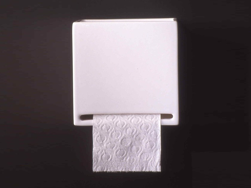 Ceramic toilet roll holder RL11 | Toilet roll holder by Boffi