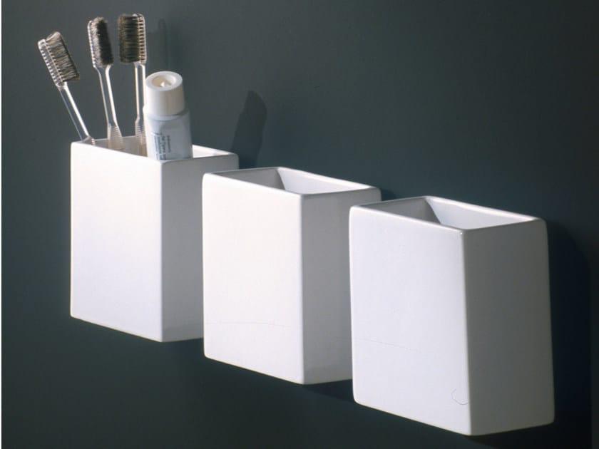 Ceramic toothbrush holder RL11 | Toothbrush holder by Boffi