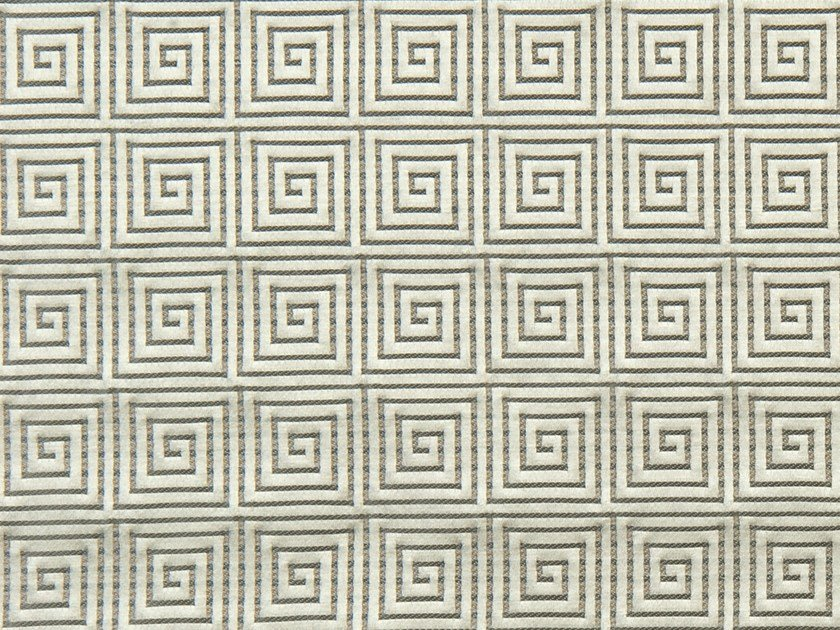 Upholstery fabric with graphic pattern ENDLESSTIME by Aldeco