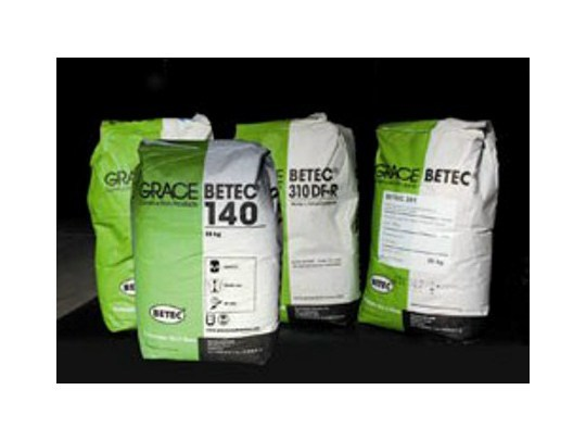 Cement-based waterproofing product Structural Waterproofing by Grace