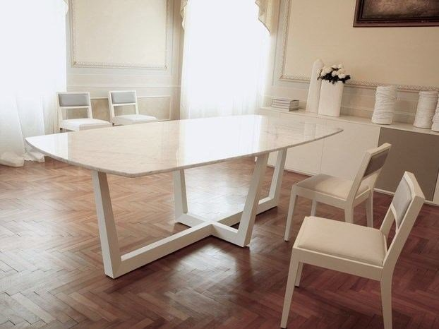 Rectangular marble table TORINO | Marble table by COLLI CASA