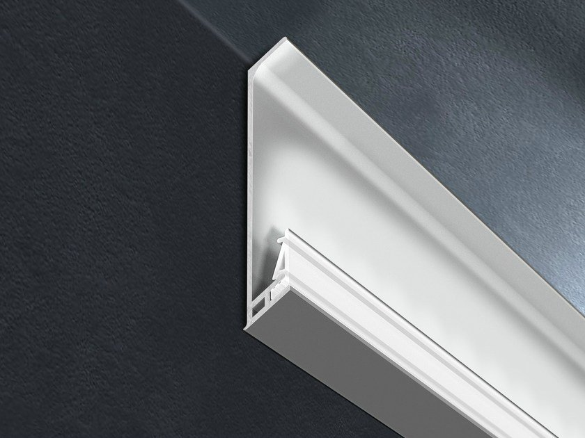 Aluminium edge profile with LED for walls PROSKIRTING GILED | Edge profile by PROGRESS PROFILES