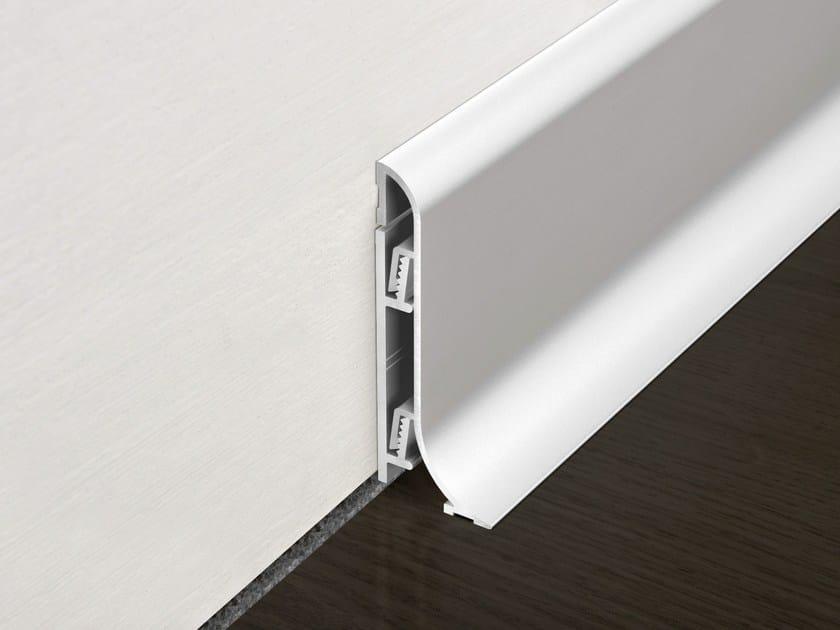 Aluminium Skirting board PROSKIRTING SHELL by PROGRESS PROFILES