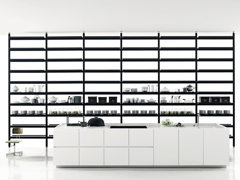 Linear Corian® kitchen K20 by Boffi