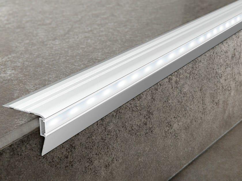 LED aluminium Step nosing PROSTAIR LED by PROGRESS PROFILES