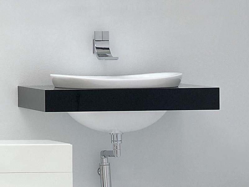 Single washbasin countertop IO | Single washbasin countertop by CERAMICA FLAMINIA