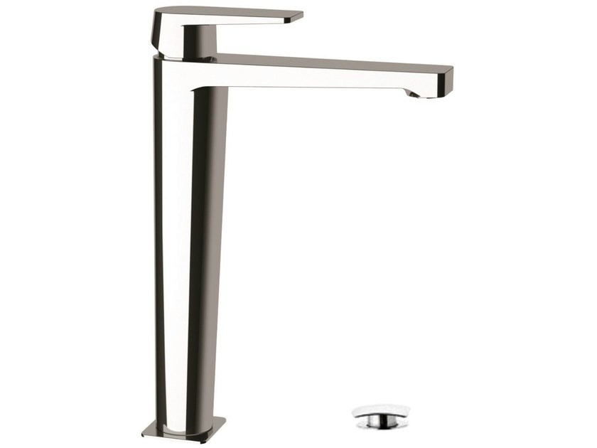 High basin mixer with click-clack waste DREAM   Single handle washbasin mixer by Remer Rubinetterie