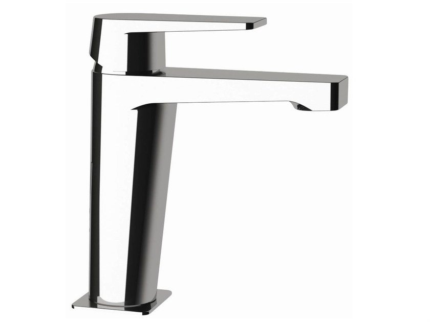 Single-lever basin mixer without pop-up waste DREAM   Single handle washbasin mixer by Remer Rubinetterie