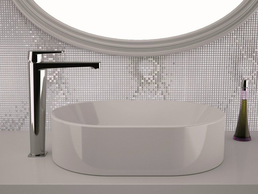 High basin mixer without pop-up waste DREAM | Washbasin mixer without waste by Remer Rubinetterie