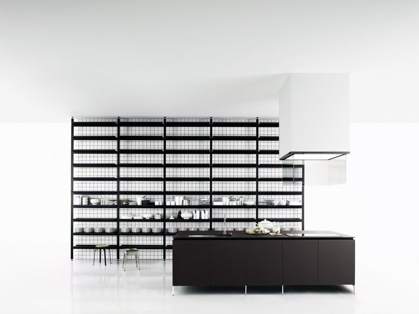 Contemporary style kitchen without handles XILA by Boffi