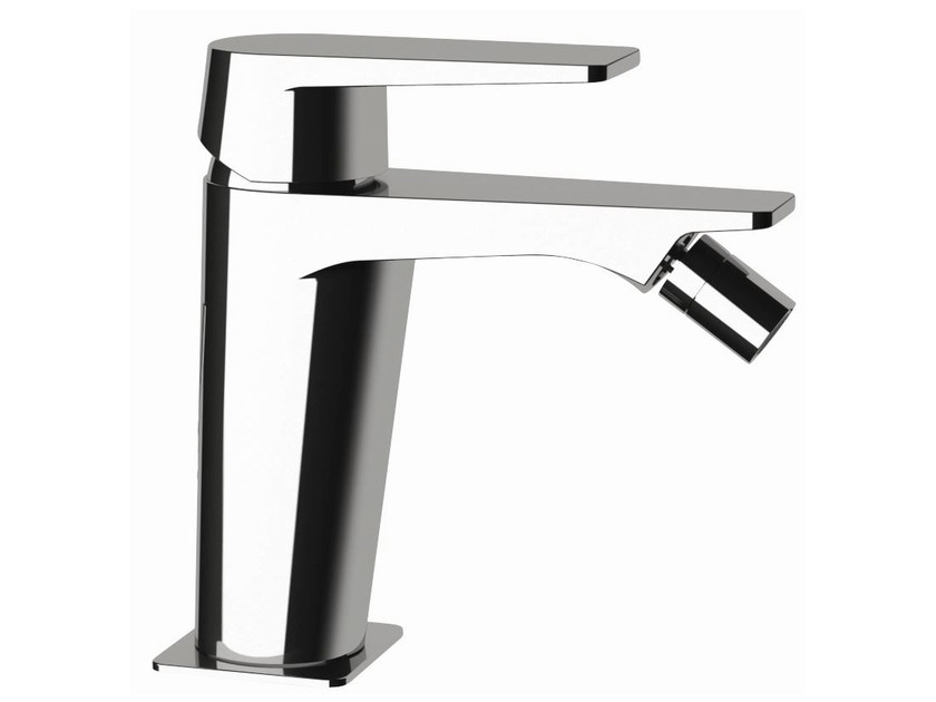 Single-lever bidet mixer without pop-up waste DREAM | Bidet mixer without waste by Remer Rubinetterie