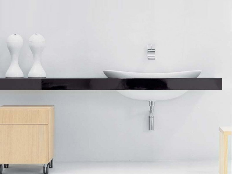Double washbasin countertop IO | Double washbasin countertop by CERAMICA FLAMINIA