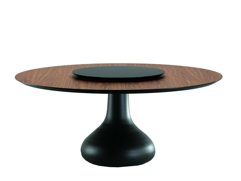 Round wooden table BORA BORA by Cattelan Italia