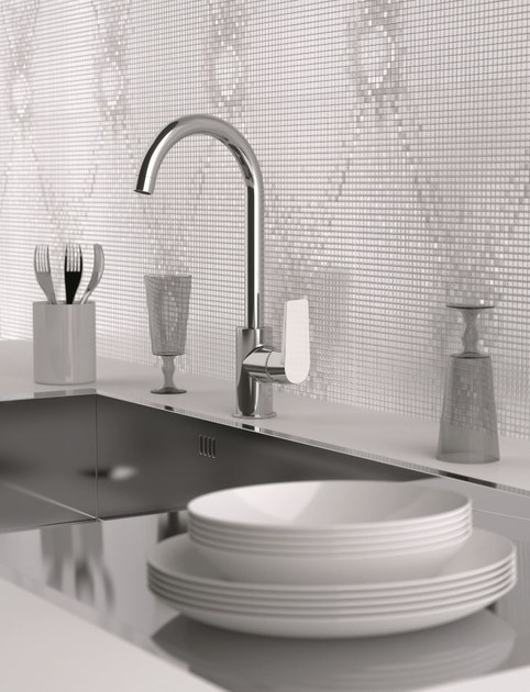 Single-lever sink mixer with high movable spout DREAM   Kitchen mixer tap by Remer Rubinetterie