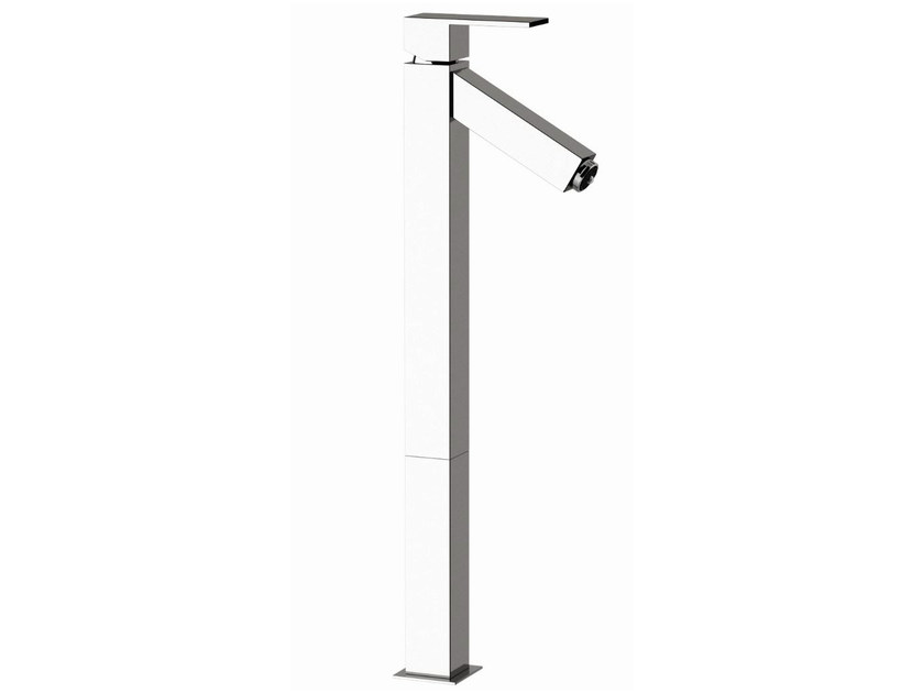LED washbasin mixer without waste Q-COLOR   Washbasin mixer by Remer Rubinetterie