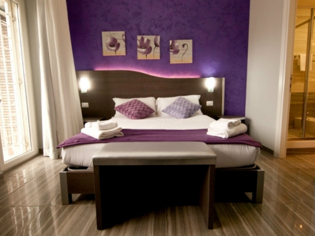 Headboard for hotel rooms ONDA LED by Mobilspazio