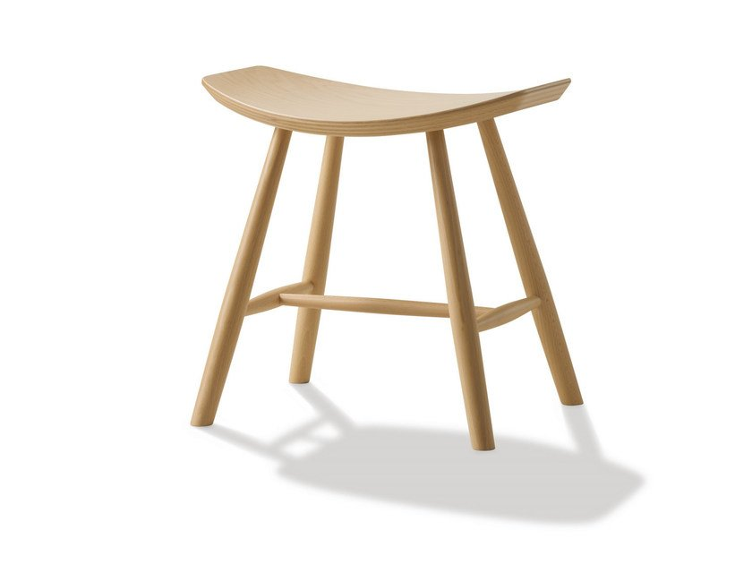 Wooden stool J63 | Stool by FREDERICIA FURNITURE