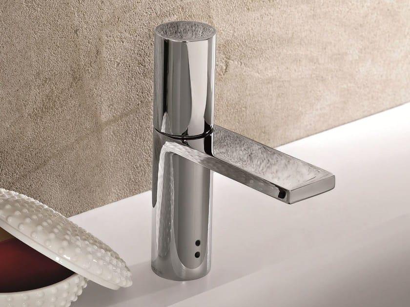 Countertop electronic washbasin mixer MILANO - 2904F by Fantini Rubinetti