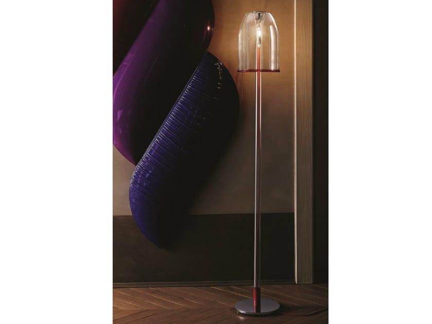 Borosilicate glass floor lamp MEDUSA | Floor lamp by Cattelan Italia