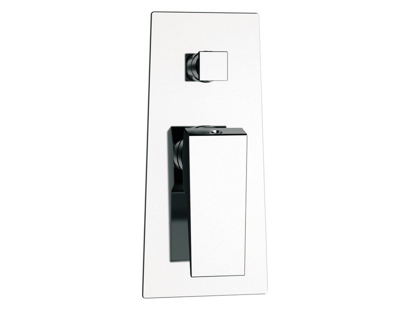 Single handle shower mixer with diverter SPEED | Shower mixer with diverter by Daniel Rubinetterie