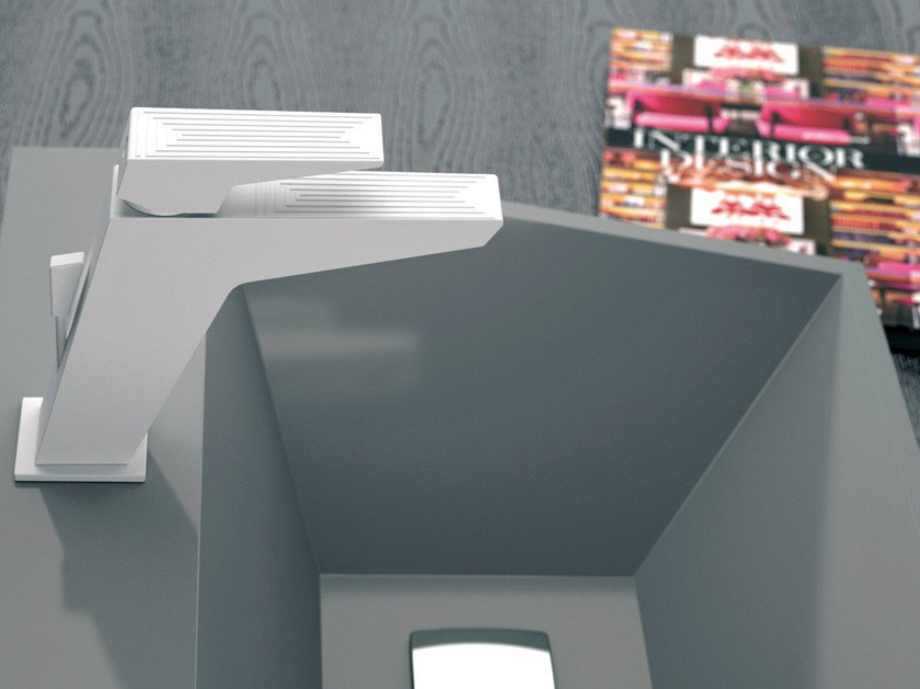 Single handle washbasin mixer SPEED DEKORA SENSE | Washbasin mixer by Daniel Rubinetterie
