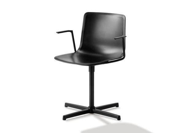 Reception chair with armrests PATO | Reception chair by FREDERICIA FURNITURE