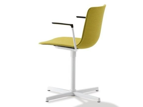 Swivel upholstered fabric chair PATO   Swivel chair by FREDERICIA FURNITURE