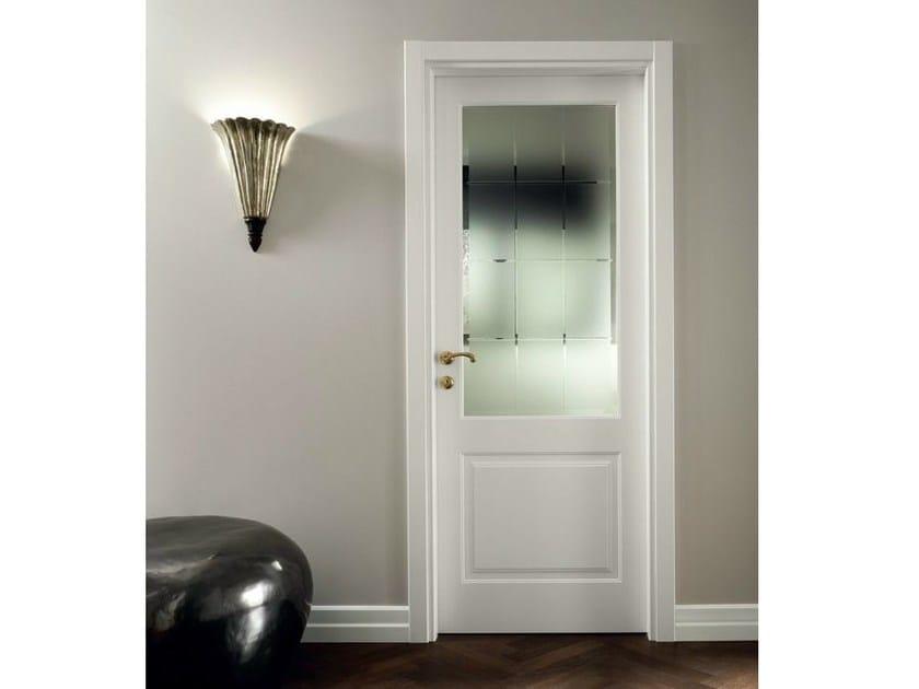 Mirabilia porta in vetro satinato by garofoli for Porte scorrevoli in vetro garofoli
