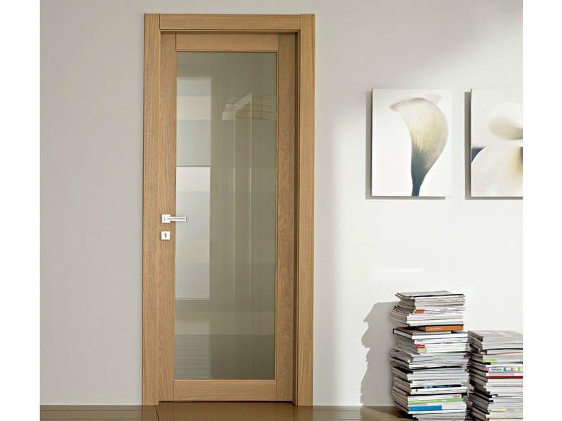 Hinged glass door GAVISIO | Glass door by GAROFOLI