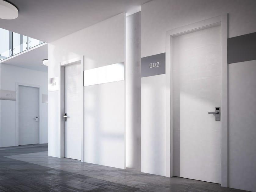 Lacquered fire-rated laminate door REI STILIA 30 | Lacquered door by GAROFOLI