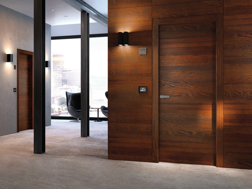 Fire-rated laminate door REI STILIA 30 | Fire-rated door by GAROFOLI