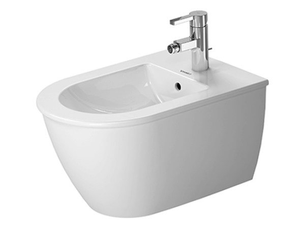 Wall-hung ceramic bidet DARLING NEW | Wall-hung bidet by Duravit