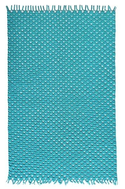 Alfombra de poli ster para exterior crochet by s r nit - Alfombras de poliester ...
