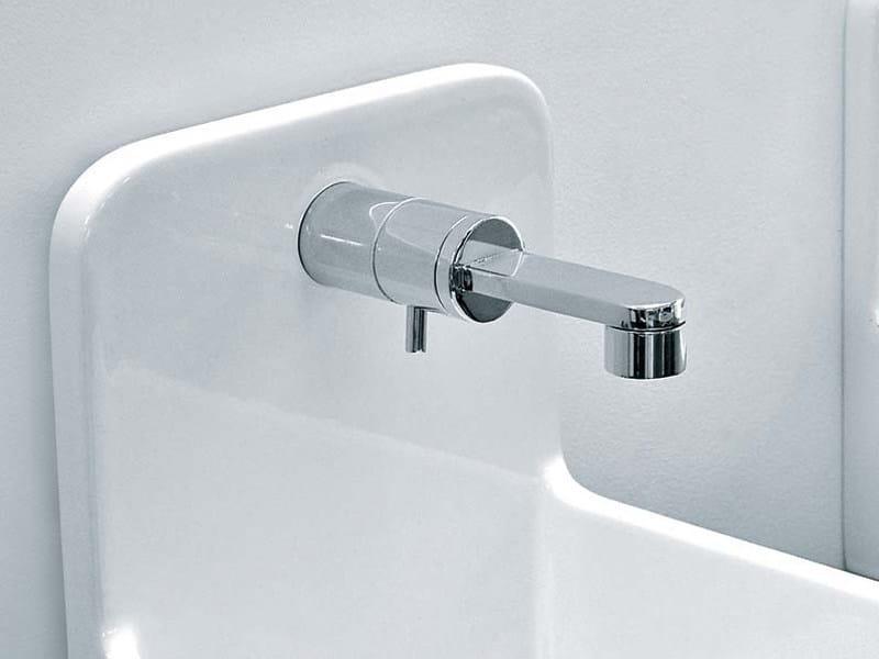 Wall-mounted 1 hole washbasin mixer ONE | Single handle washbasin tap by CERAMICA FLAMINIA