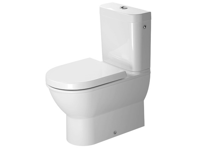 Close coupled ceramic toilet DARLING NEW | Toilet by Duravit