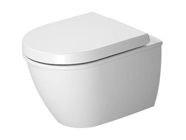 Compact wall-hung ceramic toilet DARLING NEW | Wall-hung toilet by Duravit