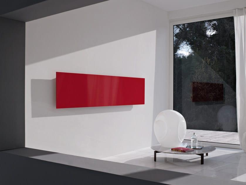 Square termoarredo orizzontale by tubes radiatori design