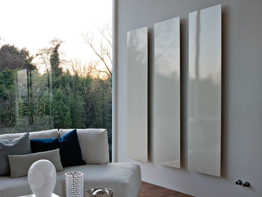 Vertical aluminium decorative radiator SQUARE | Vertical decorative radiator by Tubes Radiatori