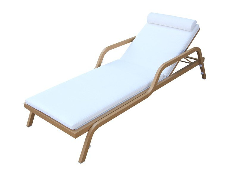 Stackable Recliner Batyline® garden daybed SUNLOUNGER by Sérénité Luxury Monaco