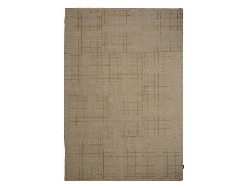 Handmade wool rug MEDLEY by Warli