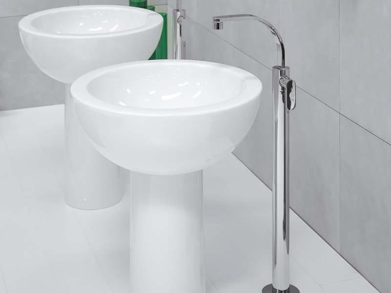 Floor standing washbasin mixer ONE   Floor standing washbasin mixer by CERAMICA FLAMINIA