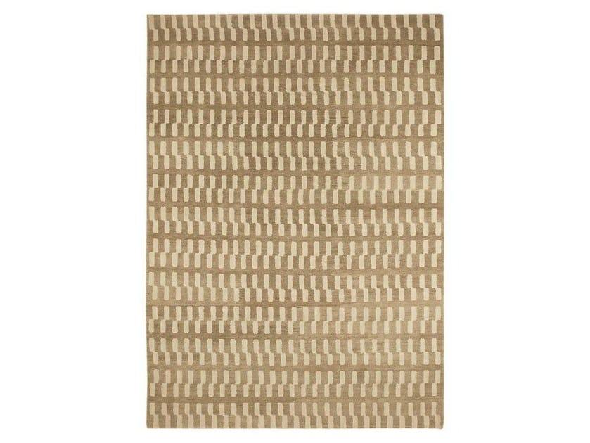 Handmade natural fibre rug ZIP by Warli