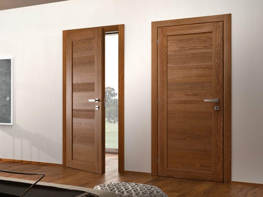 Oak safety door GAVISIO | Safety door by GAROFOLI