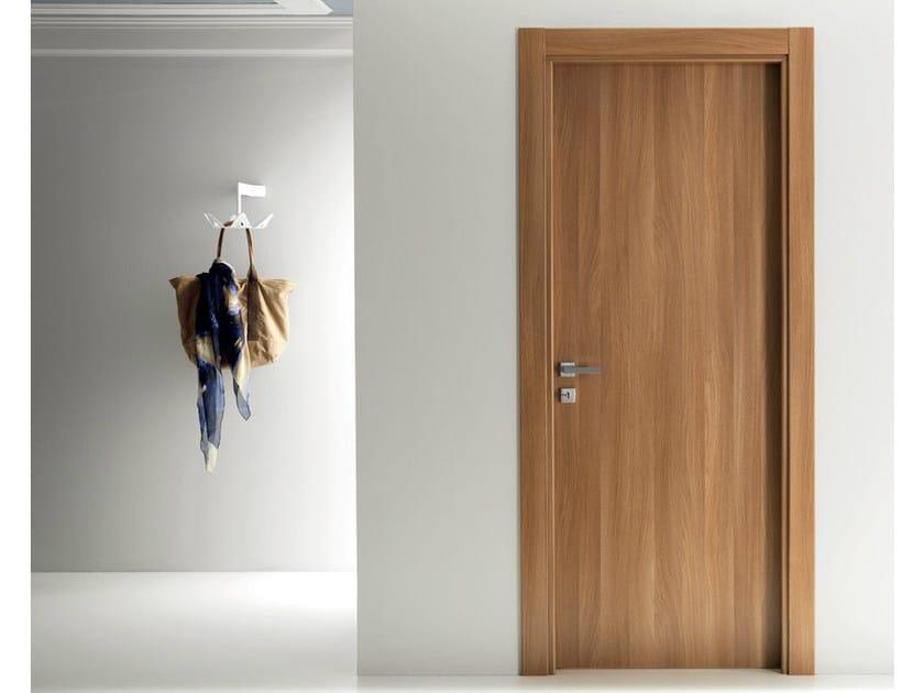 Hinged laminate door XONDA | Walnut door by GIDEA