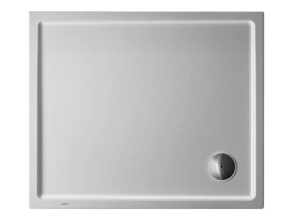 Rectangular acrylic shower tray STARCK | 90 x 75 by Duravit