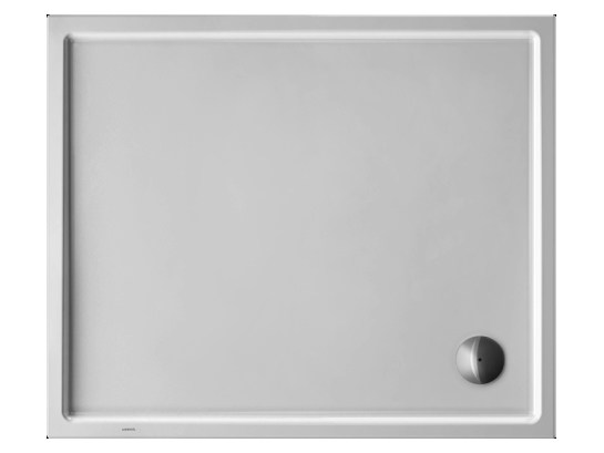 Rectangular acrylic shower tray STARCK | 120 x 100 by Duravit