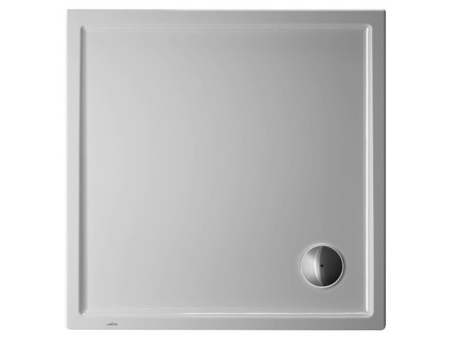 Square acrylic shower tray STARCK | 90 x 90 by Duravit