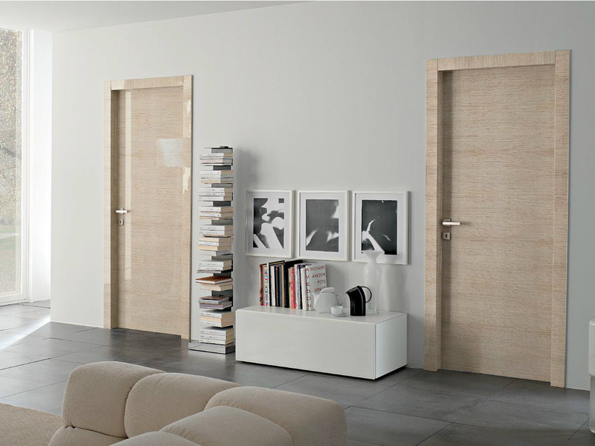 Hinged lacquered laminate door SMART | Lacquered door by GIDEA