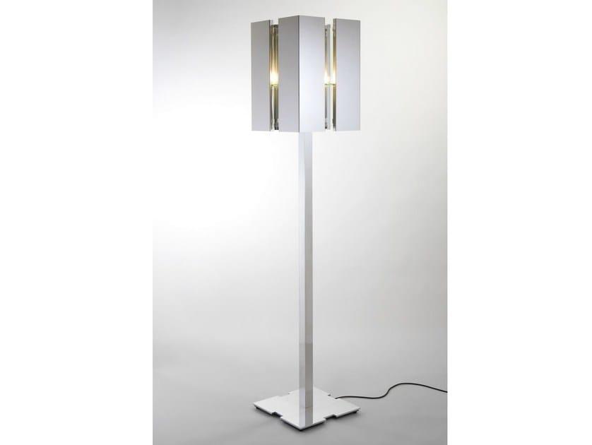 Direct light floor lamp with dimmer QUARTET | Floor lamp by Quasar