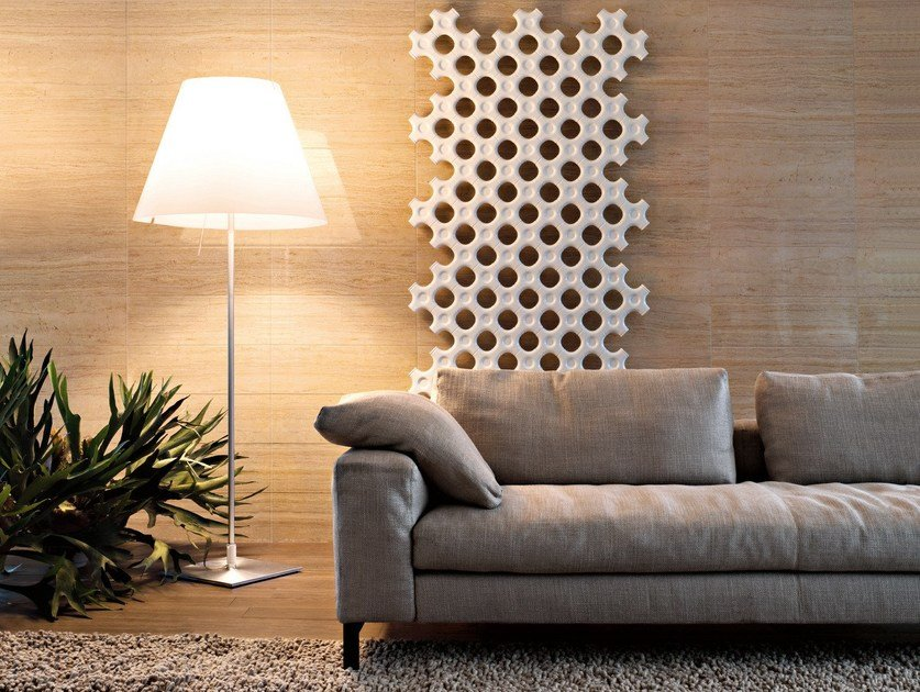 Vertical wall-mounted decorative radiator ADD-ON | Vertical decorative radiator by Tubes Radiatori